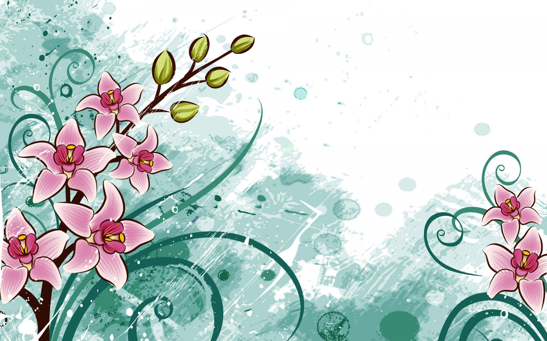 Kreslene Kvety